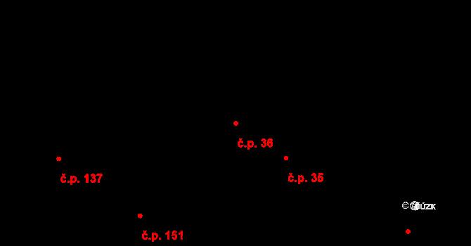 Staré Nechanice 36, Nechanice na parcele st. 31/1 v KÚ Staré Nechanice, Katastrální mapa