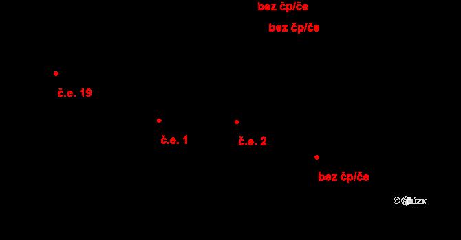 Telč-Štěpnice 2, Telč na parcele st. 2337 v KÚ Telč, Katastrální mapa