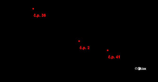 Lány na Důlku 2, Pardubice na parcele st. 12 v KÚ Lány na Důlku, Katastrální mapa