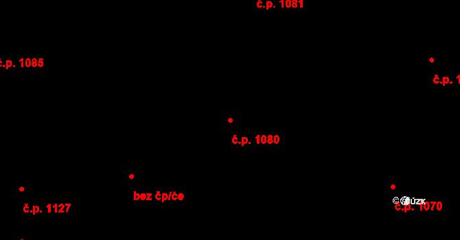 Nivnice 1080 na parcele st. 1981/57 v KÚ Nivnice, Katastrální mapa