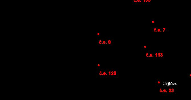 Davle 8 na parcele st. 1003 v KÚ Davle, Katastrální mapa