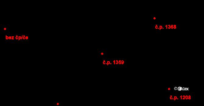 Nová Ulice 1369, Olomouc, Katastrální mapa