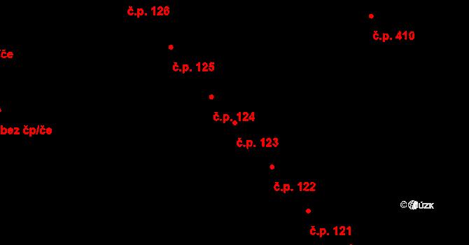 Nivnice 123 na parcele st. 1435 v KÚ Nivnice, Katastrální mapa