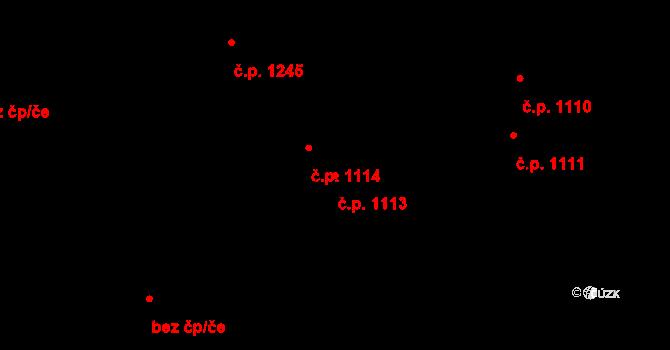 Mladá Boleslav III 1113, Mladá Boleslav na parcele st. 2330 v KÚ Mladá Boleslav, Katastrální mapa