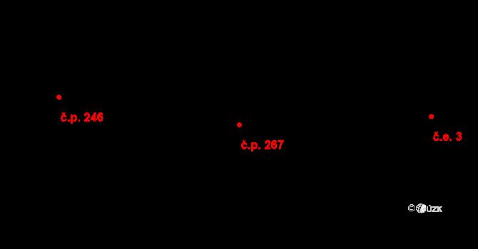 Liberec XXXII-Radčice 267, Liberec na parcele st. 372 v KÚ Radčice u Krásné Studánky, Katastrální mapa