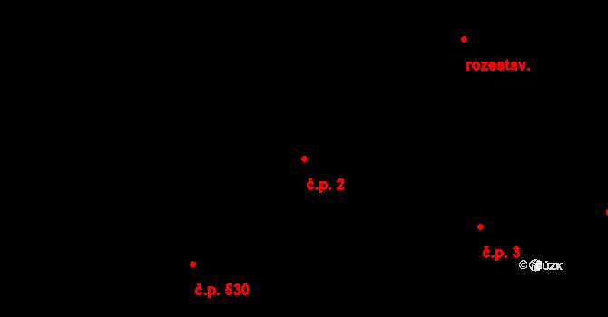 Švermov 2, Kladno na parcele st. 7 v KÚ Motyčín, Katastrální mapa