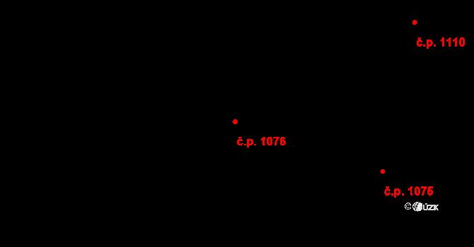 Nivnice 1076 na parcele st. 1981/61 v KÚ Nivnice, Katastrální mapa