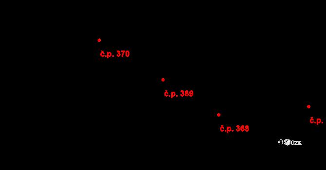 Vážany 369, Kroměříž na parcele st. 704/33 v KÚ Vážany u Kroměříže, Katastrální mapa