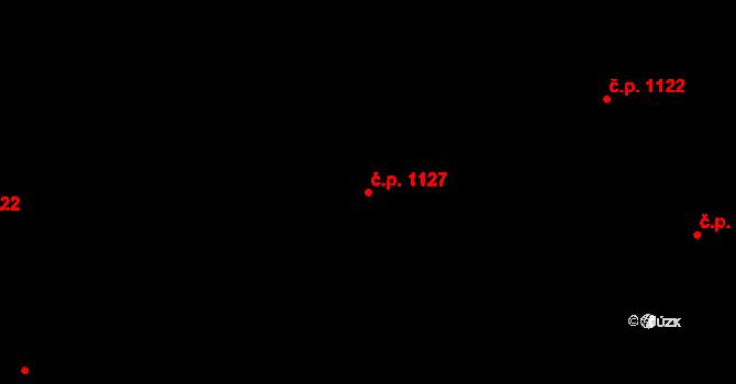Liberec XIV-Ruprechtice 1127, Liberec, Katastrální mapa
