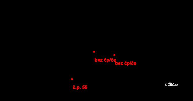 Křinec 96051612 na parcele st. 26/4 v KÚ Bošín, Katastrální mapa
