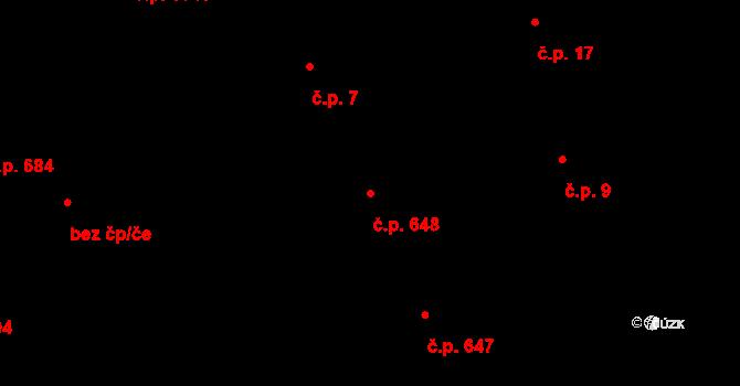 Liberec I-Staré Město 648, Liberec na parcele st. 858/1 v KÚ Liberec, Katastrální mapa