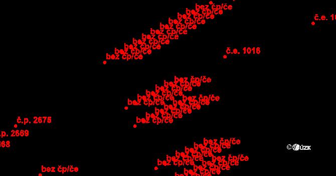 Brno 45572615 na parcele st. 6653 v KÚ Židenice, Katastrální mapa