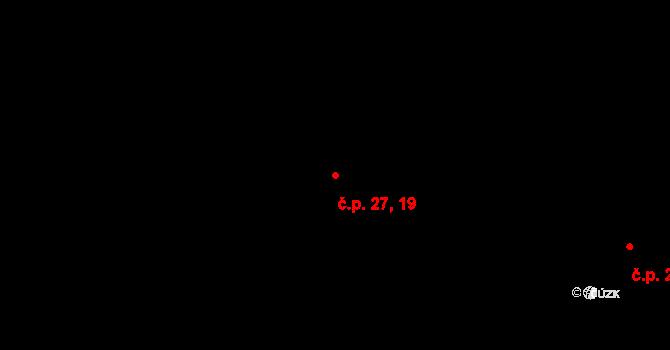 Nová Role 19,27 na parcele st. 271 v KÚ Nová Role, Katastrální mapa