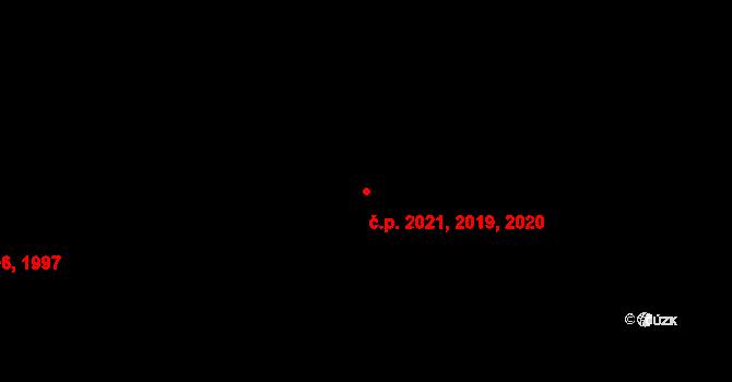 Kročehlavy 2019,2020,2021, Kladno na parcele st. 3557 v KÚ Kročehlavy, Katastrální mapa