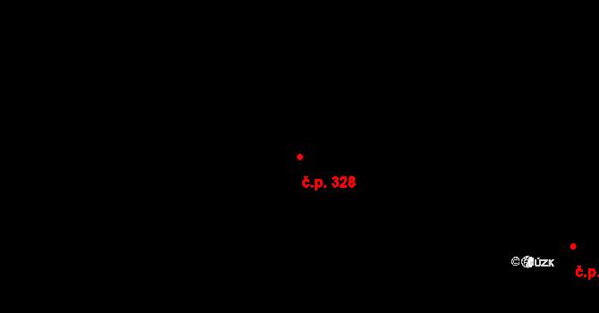 Rokytnice v Orlických horách 328 na parcele st. 35 v KÚ Prostřední Rokytnice, Katastrální mapa