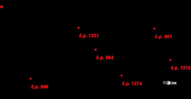 Nové Město 964, Praha na parcele st. 124 v KÚ Nové Město, Katastrální mapa