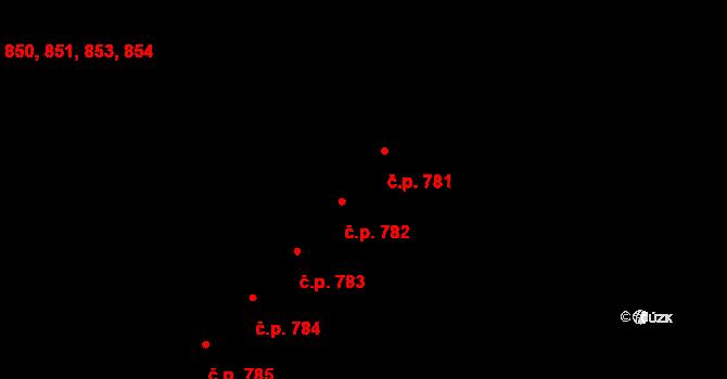 Skuteč 781 na parcele st. 1397 v KÚ Skuteč, Katastrální mapa