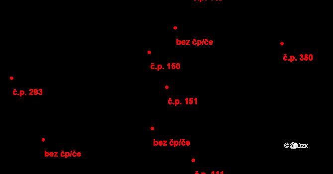 Nová Role 151 na parcele st. 99/2 v KÚ Nová Role, Katastrální mapa