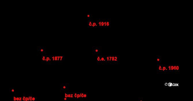 Cheb 1782 na parcele st. 5202/2 v KÚ Cheb, Katastrální mapa
