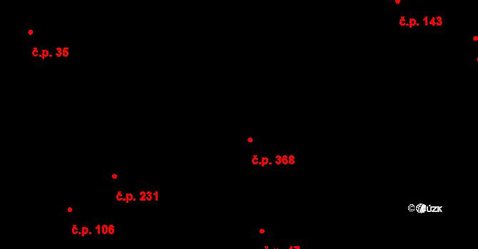 Kokory 368 na parcele st. 125/2 v KÚ Kokory, Katastrální mapa