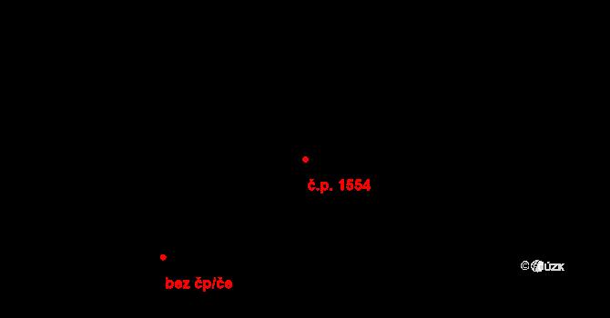Podlesí 1554, Havířov na parcele st. 400/14 v KÚ Bludovice, Katastrální mapa