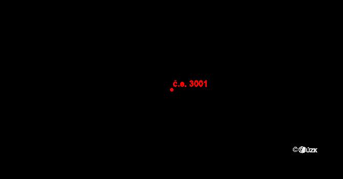 Heřmanice 3001, Ostrava na parcele st. 1614 v KÚ Heřmanice, Katastrální mapa