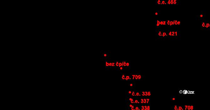 Krupka 45068640 na parcele st. 1017 v KÚ Bohosudov, Katastrální mapa