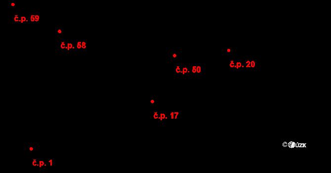Kozašice 50, Jankovice na parcele st. 34/2 v KÚ Kozašice, Katastrální mapa