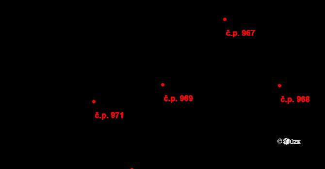 Nové Město 969, Praha na parcele st. 131 v KÚ Nové Město, Katastrální mapa