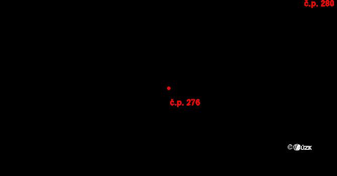 Bělidla 276, Olomouc na parcele st. 428 v KÚ Bělidla, Katastrální mapa