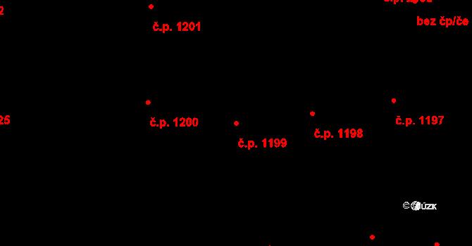 Nové Město 1199, Praha na parcele st. 380 v KÚ Nové Město, Katastrální mapa