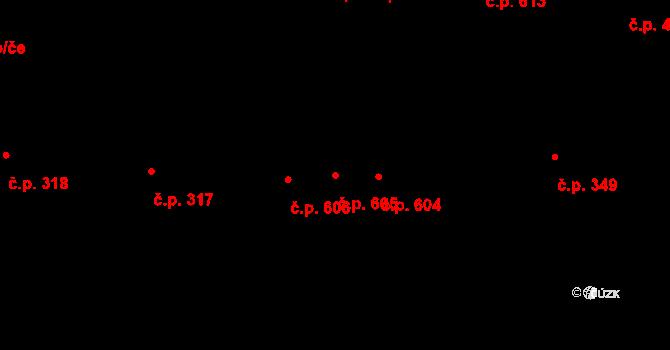 Dolní Měcholupy 605, Praha na parcele st. 128/5 v KÚ Dolní Měcholupy, Katastrální mapa