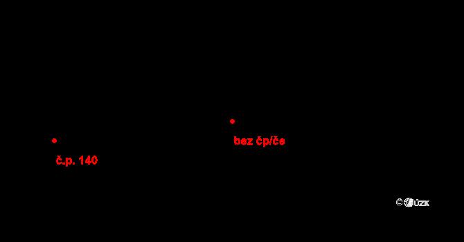 Aš 44668660 na parcele st. 191 v KÚ Doubrava u Aše, Katastrální mapa