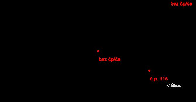 Pardubice 46763660 na parcele st. 392 v KÚ Trnová, Katastrální mapa