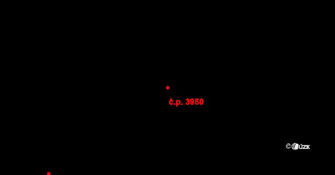 Havlíčkův Brod 3950 na parcele st. 7654 v KÚ Havlíčkův Brod, Katastrální mapa