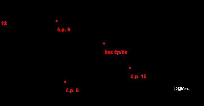 Luka nad Jihlavou 48434671 na parcele st. 7/3 v KÚ Předboř nad Jihlavou, Katastrální mapa