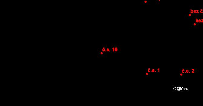 Telč-Štěpnice 19, Telč na parcele st. 2324 v KÚ Telč, Katastrální mapa