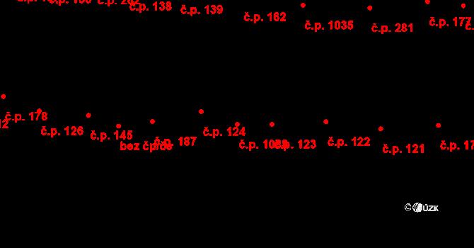 Újezd u Brna 1088 na parcele st. 1743/1 v KÚ Újezd u Brna, Katastrální mapa