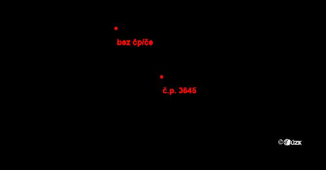 Frýdek 3645, Frýdek-Místek na parcele st. 5655/19 v KÚ Frýdek, Katastrální mapa