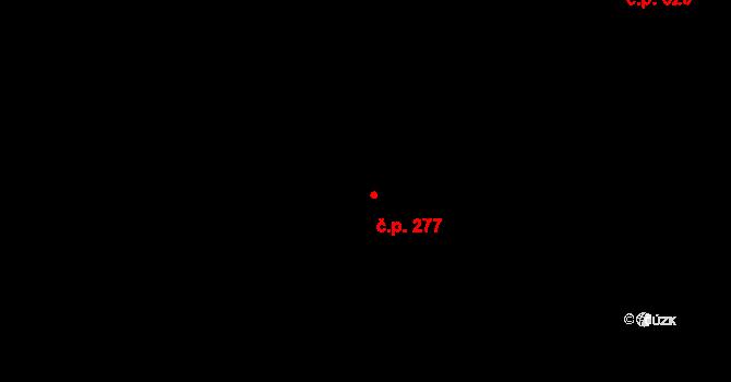 Horní Měcholupy 277, Praha na parcele st. 511/10 v KÚ Horní Měcholupy, Katastrální mapa
