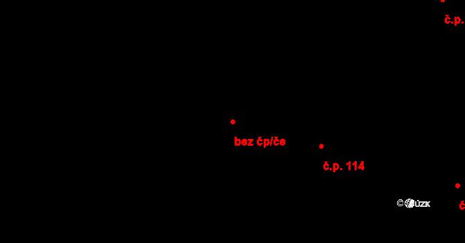 Pardubice 46763678 na parcele st. 391 v KÚ Trnová, Katastrální mapa