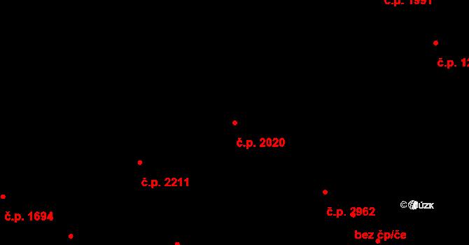 Horní Počernice 2020, Praha na parcele st. 3271/6 v KÚ Horní Počernice, Katastrální mapa