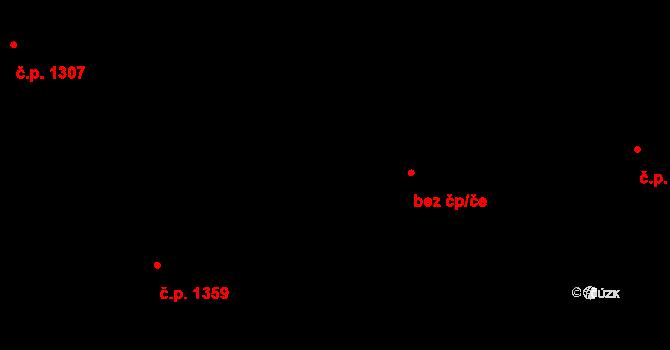 Český Brod 1359 na parcele st. 2020/1 v KÚ Český Brod, Katastrální mapa