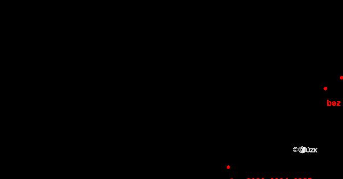 Zábřeh 2984,2985,2986, Ostrava na parcele st. 4634 v KÚ Zábřeh nad Odrou, Katastrální mapa
