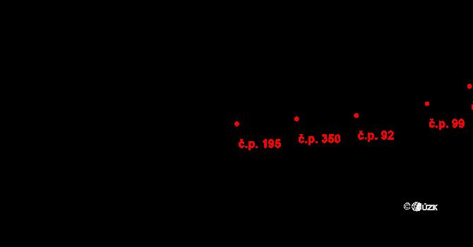 Prštné 195, Zlín na parcele st. 248 v KÚ Prštné, Katastrální mapa
