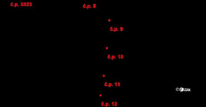 Jihlava 10 na parcele st. 26 v KÚ Jihlava, Katastrální mapa
