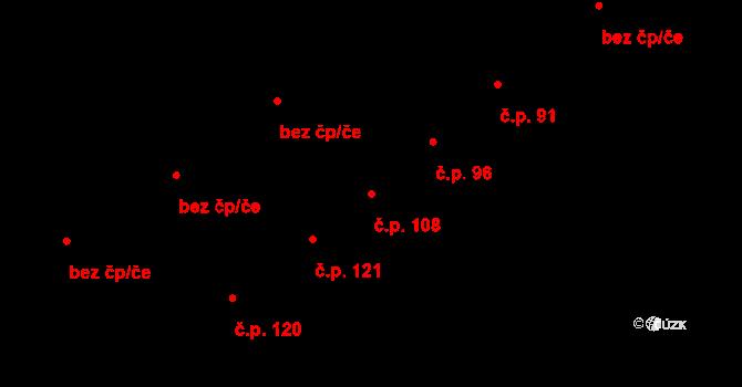 Proboštov 108, Katastrální mapa