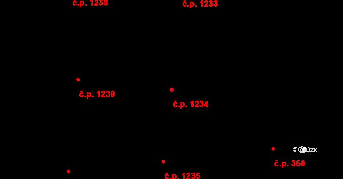 Polanka nad Odrou 1234, Ostrava na parcele st. 2852/15 v KÚ Polanka nad Odrou, Katastrální mapa