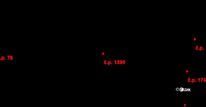 Nové Město 1390, Praha na parcele st. 753/2 v KÚ Nové Město, Katastrální mapa