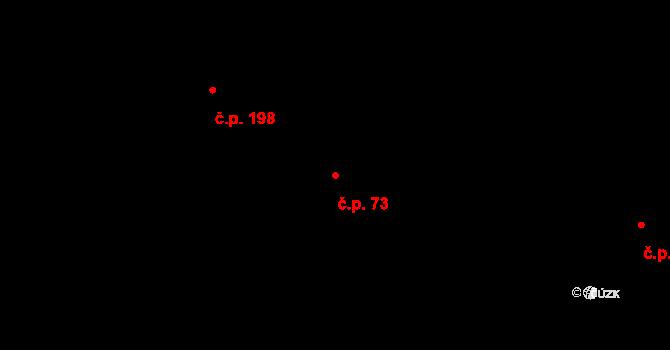 Liberec XX-Ostašov 73, Liberec na parcele st. 52/1 v KÚ Ostašov u Liberce, Katastrální mapa